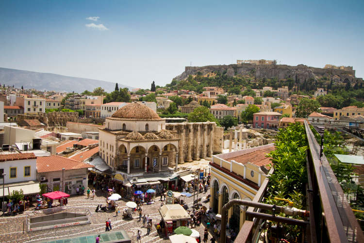 athens travel guide-Monastiraki-Athens
