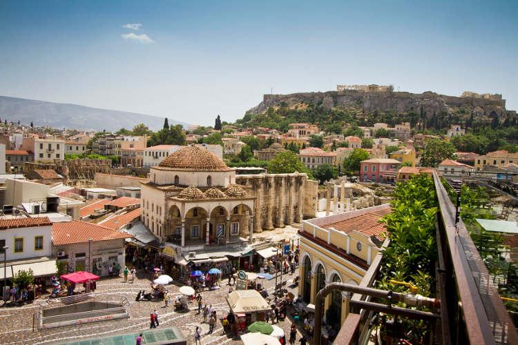 athens travel guide-Monastiraki-Athens