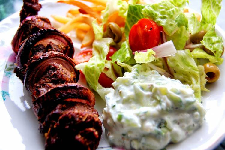 athens travel guide-Souvlaki