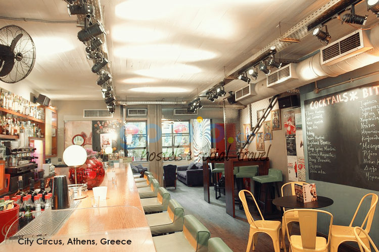 athens travel guide-hostel