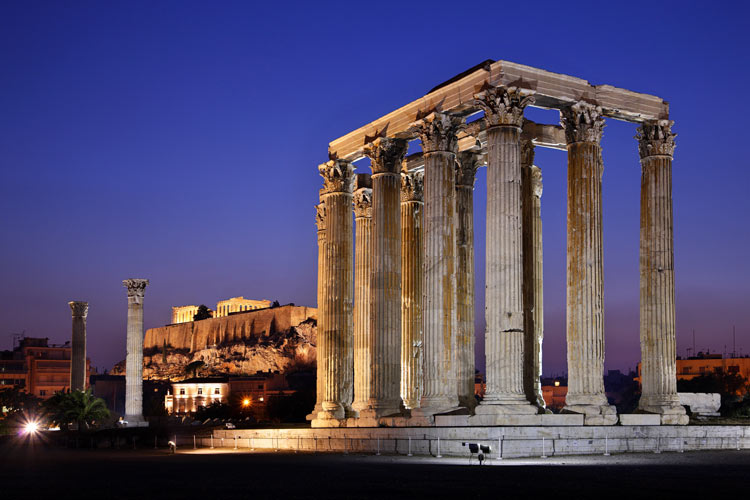 athens travel guide-temple-of-olmpian-zeus