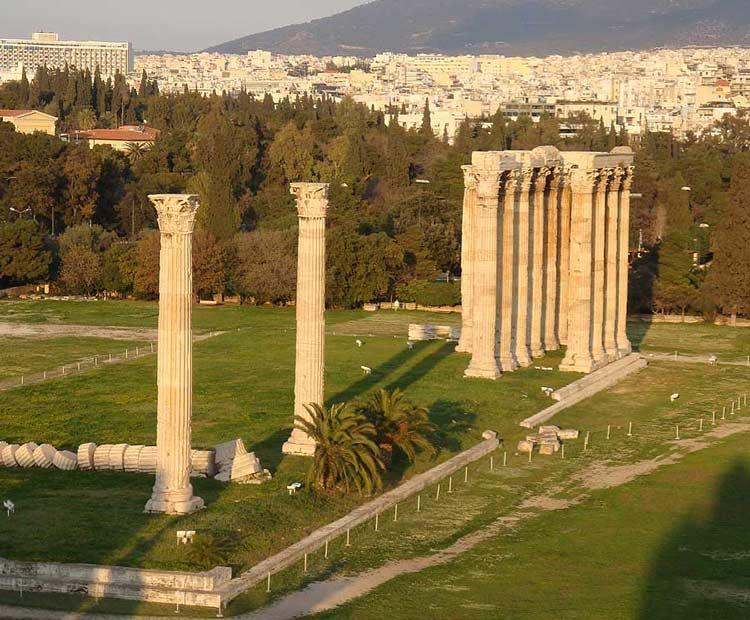 athens travel guide-zeus