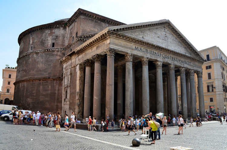 roma travel guide-Pantheon