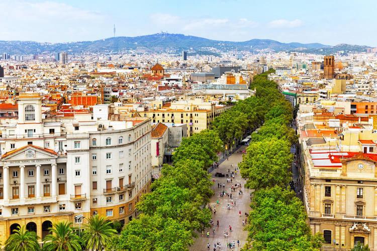 barcelona travel guide-la rambla