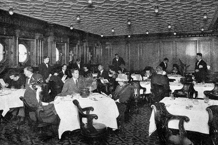 titanic-سالن غذا2