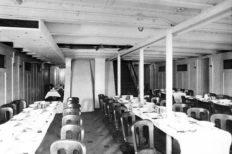 titanic-سالن غذا3