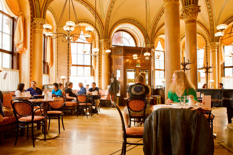vienna travel guide-coffee house